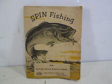 Vintage DuPont Nylon Spin Fishing Booklet