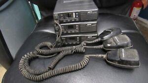 Lot of 3 Motorola Nextel M02UCK6NR3AN 1 M02UCK6NR3BN ham radios for parts