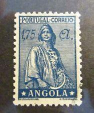 ANGOLA Scott #258A * MH, 1.75 A,  stamp , fine + 102 card