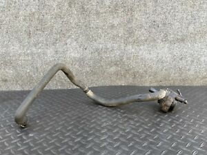 ✔MERCEDES W212 W218 E550 E350 CHARGE AIR HOSE LINE W/ AUXILIARY WATER PUMP OEM