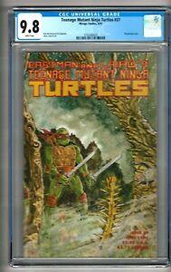 Teenage Mutant Ninja Turtles #37 (1991) CGC 9.8  White Pages McCollum - Anderson