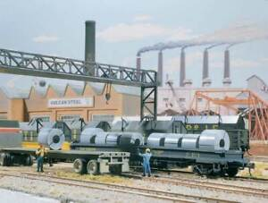 Walthers Cornerstone HO Scale Freight Car Load Kit Steel Coil Load 12-Pack