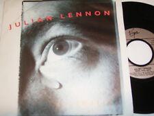 "7"" - JULIAN LENNON Saltwater & REBEL King - 1991 # 5891"