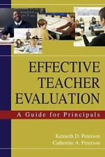 Effective Teacher Evaluation: A Guide for Principals-ExLibrary