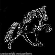 Horse #2 Rhinestone Iron on T Shirt Design Rhinestone Iron on Transfer     G5IA