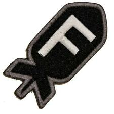VELCRO® BRAND Hook Fastener Compatible Morale Patch F Bomb Black 2.75""
