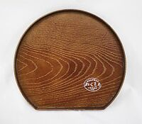 Petit plateau japonais rond imitation bois - Made in Japan - Import direct