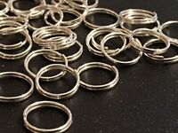 Split rings double rings jewellery making crafts good quality choose size UK