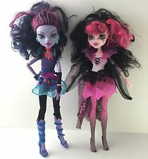 Monster High Dolls Draculaura Vampire Jane Boolittle Voodoo Clothes Accesories