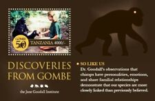 Tanzania - Jane Goodall - Gombe Discoveries - Souvenir Sheet MNH