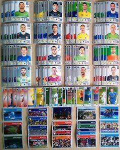 PANINI Russian Premier League Full set of stickers 2020-2021 and empty album.