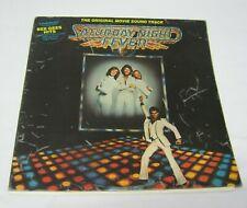 Rare Original 1977 Saturday Night Fever Silver Vinyl Double LP Vintage