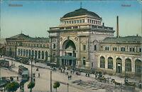 Ansichtskarte Mannheim Bahnhof um 1900  (Nr.856)