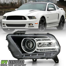 2013-2014 Ford Mustang HID/Xenon w/LED Projector Headlight Headlamp Driver Side