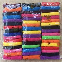 50pcs/lot Baby Girls Kids hair elastic rubber band Toddler Ponytail Holder rope