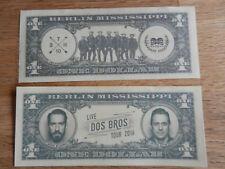 Boss Hoss 1 Dollar Bosshoss Party zu Weihnachten Fan Artikel Konzert Oberhausen