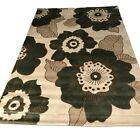 Flair Rugs Sincerity Moderno en flor verde alfombra 120cm x 170cm (4ft x 168cm)