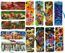 Lot of 10 3D Bookmarks with Tassle House Skulls Planets Puppies Flowers Dinosaur