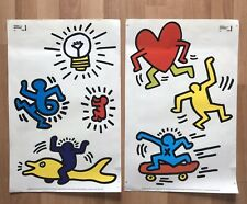 ORIGINAL KEITH HARING FOUNDATION WALL STICKERS 2010 PRINTED FOR IKEA