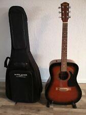 Fender Gitarre CD60SB + Tragetasche und Gitarrenständer