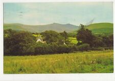 The Beacons From Merthyr Road Brecon 1977 Postcard 484a