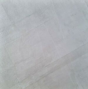 CUT SAMPLE Drab White Anti- Slip 60x60cm Kitchen Bathroom Wall Floor Gloss Tiles