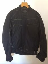 Belstaff Cordura Motorcycle Jacket Mens Medium Removable Quilted Lining & Armour