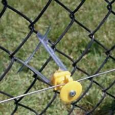 "Fi-Shock ICLXY-FS Electric Fence Chain Link Insulator, 6"", Yellow"