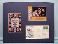 """Dean Martin & Burt Lancaster in """"Airport"""" written by Arthur Hailey & autograph"""
