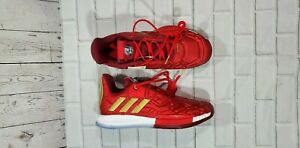 Adidas Marvel Harden Vol. 3 Ironman Red Silver Gold Ice EG2626 YOUTH SIZE 6
