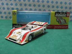 Vintage - Porsche 917/10 T.C.Can-Am à Compresseur - 1/43 Solido N°18