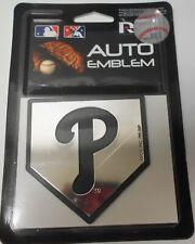 Philadelphia Phillies Auto Emblem. Adhesive Backing.   #588
