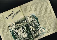 vintage FRANCIS-BARNETT MOTORCYCLE Article / Photo's / Pictures: Franny