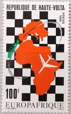 UPPER VOLTA OBERVOLTA 1980 792 538 EUROPAFRIQUE Map Karte Flugzeug Airplane MNH