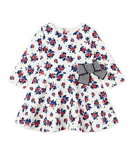 Petit Bateau Baby Girls' Dress Size 18 Months/81 cm Retail $ 65.99