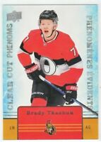 Brady Tkachuk 2019-20 Upper Deck Tim Hortons CLEAR CUT PHENOMS