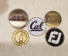 California university golf ball marker and 4 others footjoy, PGA tour... #2