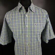 Paul Smith Mens Shirt XL Short Sleeve Multicoloured Regular Fit Check Cotton
