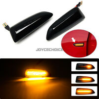 For Opel For Vauxhall Astra J K Side Marker Dynamic LED Turn Signal Light Lamp