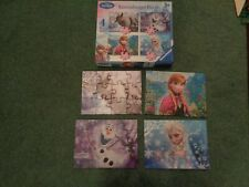 Ravensburger Frozen 4 in A Box Puzzles 07 360 3
