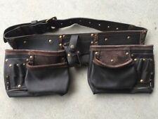 TOOL belt real leather workmans TOOL holder full grain leather AUstock HOLDtools