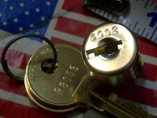 4 Verious S Hudson R8009r80 R80 Metal Desk Drawer T Bolt Lock Key Lot