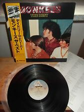"MONKEES ""The Best"" LP ARISTA JAPAN 1979 OBI - INSERT"