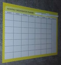MONTHLY MAGNETIC PLANNER. GREAT GIFT IDEA..PERFECT FOR HOME or OFFICE ITEM 3C