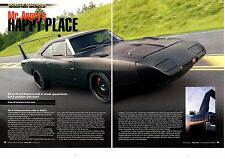 1969 DODGE CHARGER DAYTONA CLONE 471/500-HP  ~ GREAT 6-PAGE ARTICLE / AD