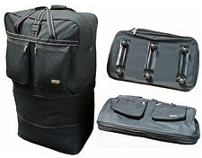 Super large folding Storage moving growing zip travel luggage bag on wheels 42""