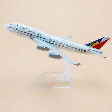 16cm Airplane Model Plane Air Philippines Airlines Boeing 747 B747 400 Aircraft