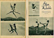 Wiener Schule f.künstlerischen Tanz von Gisa Geert & Ilka Zezulak eröffnet 1928