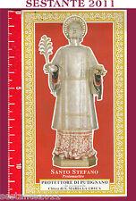 460 SANTINO HOLY CARD  SANTO S. STEFANO PROTOMARTIRE  PROTETTORE DI PUTIGNANO