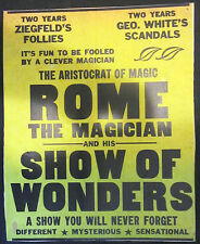 Rome The Magician Window Card